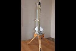 «Двухступенчатая модель ракеты»