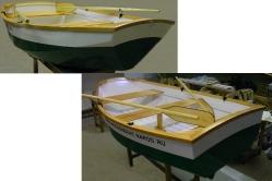Английская лодка  (яхтенный тузик) «Джек-шпрот»