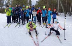 Лыжный марафон в рамках республиканского Фестиваля зимнего туризма «Нетающая лыжня»!