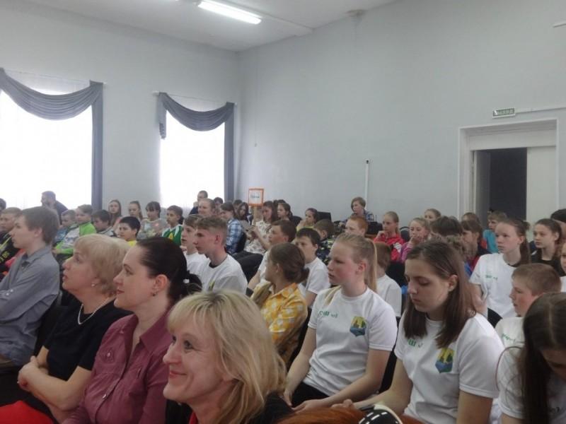 Команда кондопожской школы №1 стала победителем Президентских спортивных игр в Карелии