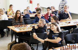 Всероссийские соревнования по шахматам «Белая ладья»!
