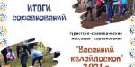 Туристско-краеведческие массовые соревнования «Весенний калейдоскоп»